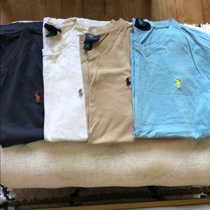 Men's Polo by Ralph Lauren Tshirt Bundle